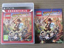 JEU PLAYSTATION 3 PS3   LEGO INDIANA JONES 2   COMPLET EN FRANCAIS