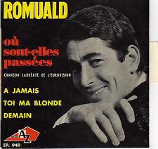 ROMUALD OU SONT-ELLES PASSEES FRENCH ORIG EP MICHEL COLOMBIER