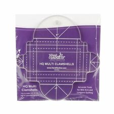 Handi Quilter Multi Clam Shell Ruler for Mid-Arm & Longarm Quilting Machine