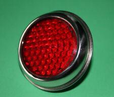 "TRIUMPH BSA Norton Rojo Reflector Trasero Número De Matrícula RER25 LU57124 2"""