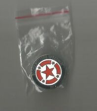 2017 STOKE POTTERS SPEEDWAY SILVER CAPS BADGE   ( EXCELLENT CONDITION )