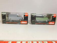AR914-1# 2x Schuco 1:43 DKW Quick aster: 02402+02391, NIP