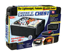 CHILL CHEST - As Seen On TV Collapsible Cooler 41 qt. Lightweight and Foldable