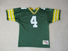 VINTAGE Wilson Brett Favre Green Bay Packers Football Jersey Youth Large Kids