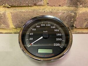 Genuine Harley-Davidson SPEEDOMETER Km/h calibrated Black 67197-11A