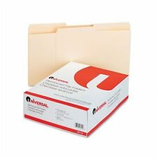 Universal Office Products 16112 File Folders, 1/2 Cut, Two-ply Top Tab, Letter,