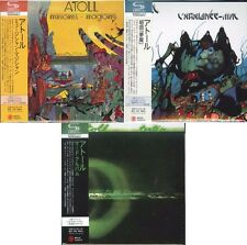 ATOLL-LOT OF 3 CD-JAPAN MINI LP SHM-CD SET 308