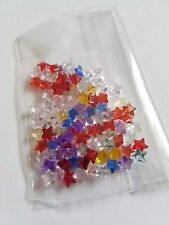 103PCS 5*5mm Assd Star Birthstone Floating Charms for Living Memory Glass Locket