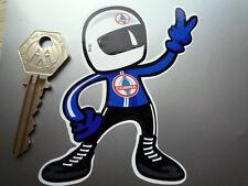 """Cobra Driver 2 dedos """"Salute' etiqueta engomada del coche de carreras Rally Ac Shelby 289 427 Etc"""