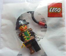Lego Capitaine Pirate promotionnel Porte-clés Circa 1991, encore scellé non ouvert neuf