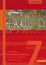 P.A.U.L.D. 7 Persönliches Arbeits- und Lesebuch Deutsch. gebraucht, gut