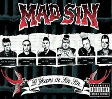 FREE US SHIP. on ANY 3+ CDs! ~Used,Very Good CD Mad Sin: 20 Years in Sin Sin