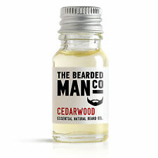 Cedarwood The Bearded Man Company Beard Oil Man Mens Conditioner Natural 10ml