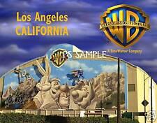 California - Los Angeles  WARNER BROS STUDIOS - Flexible Fridge Magnet