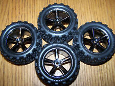 4 Traxxas 1/16 7107 Brushless VXL E-REVO Talon Tires & 12mm Wheels Tire Wheel