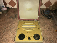 Vintage Battery Valve Radio.Premier Petite,Early 1950s,Nice Set,Working V well