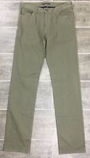 Theory Men's Straight Jeans Pants Size 29 Haydin Enz Olive Green J1376