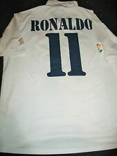 Authentic Ronaldo Real Madrid DEBUT  2002 - 2003 Jersey Shirt Camiseta XL