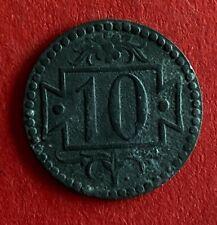 Danzig Freie Stadt  10 Pfennig 1920