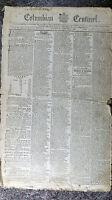Historical 1798 January 6 Boston Columbian Centinel Newspaper Not a Reprint
