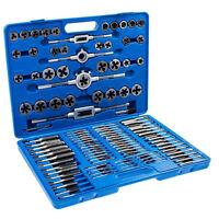 110x Tap and Die Combination Set Tungsten Steel Titanium METRIC Tools USA