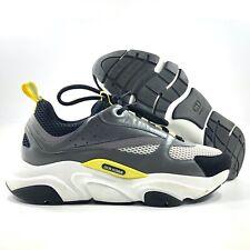 Dior B22 Sneaker Black Yellow White Grey Men's 45