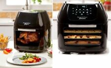 Power Air Fryer Oven Rotisserie Dehydrator 3 Air Flow Racks Extra Large Capacity
