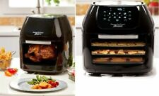 Power Air Fryer Oven Rotisserie Dehydrator 3 Air Flow Racks Extra Large Capacity