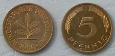 Deutschland / Germany 5 Pfennig 1980 J p107 unz.