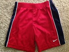 New Boys Nike red Shorts Size 7
