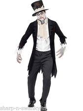 Costumi e travestimenti horror nero per carnevale e teatro da uomo