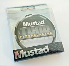 Mustad Thor 100% Fluorocarbon Leader Fishing Line - Virtually Invisible In Water