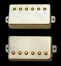Guitar Parts GUITARHEADS PICKUPS - ALNICO SUPREME PAF - HUMBUCKER SET 2 - GOLD