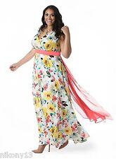 NWT Authentic IGIGI MADISON Plus Size Maxi Dress in Sunshine, 18