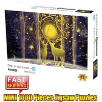 Elk HD Jigsaw Puzzles Adults Kids Educational Toys Hobby Game Mini 1000 Piece