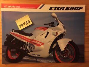 Honda CBR600F Tipo F CBR600 F CBR 600 Catálogo Moto Folleto