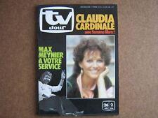 TV JOUR 82/25 (23/6/82) CLAUDIA CARDINALE MAX MEYNIER