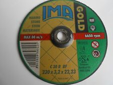 Disco Gold da taglio per marmo,pietre, diam. 230x 3,2x22 art. 2303222M2DT Ima
