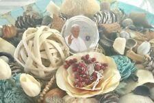 Pope Francis Rose Scented Bead Rosary Blessed Miraculous Rosary Prayer Card
