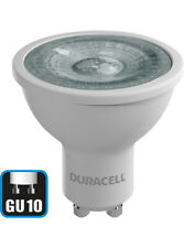 8 X Duracell LED Frosted GU10 Dimmable Bulb [Energy Class A+] Warm or Cool White