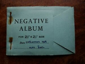 Christmas 1968 on HMS Rhyl, Vintage Wallet of 7 Informal B&W Negatives