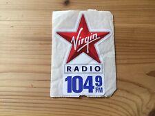 Virgin 104.9 Radio Station Bumper Sticker.
