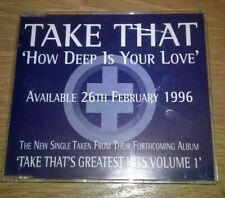 Take That How Deep Is Your Love Promo CD Single TAKE25 -  Gary Barlow Bee Gees