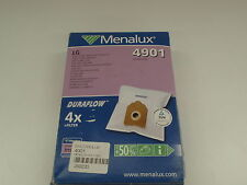 MENALUX 4901 VACUUM DUST BAG FOR LG HOLLAND ELETRO 4 PACK + FILTER NEW