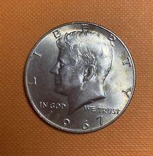 1967 US Clad Silver Half Dollar