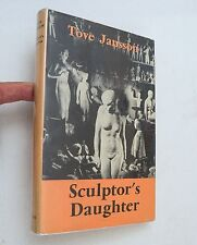 1969, Sculptor's Daughter by Tove Jansson, Ernest Benn, HBw/dj 1st RARE/COLLECT!