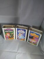 Walt Disney Masterpiece Collection Lot Of 3 Mcdonalds Happy Meal Toys 1995