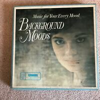 """""""Background Moods"""" Music For Your Every Mood Readers Digest 10 LP Vinyl Box Set"""
