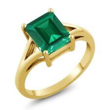 Emerald Yellow Simulated Fine Jewellery