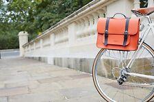 hochwertige Leder Fahrrad Businesstasche